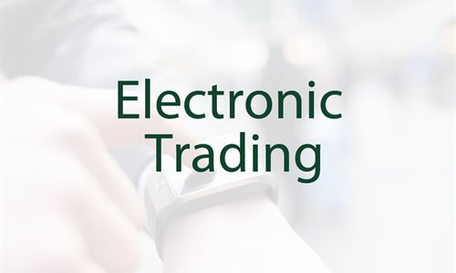 Options electronic trading